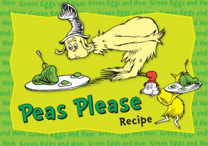 Green Eggs and Ham Peas Please Recipe