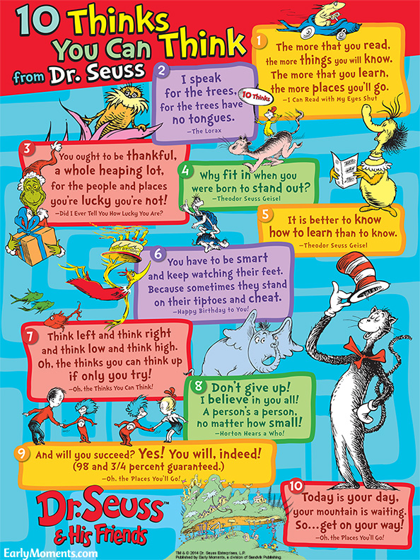 Dr. Seuss Favorite Quotes