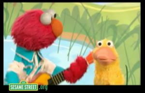 Elmo Counts Ducks