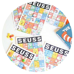 Seuss Party - Bingo