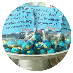 Seuss Party - Oh the Places candy