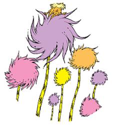 Seuss Party - Truffula Craft