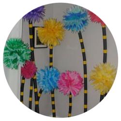 Seuss Party - Truffula