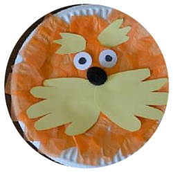 Seuss Party - lorax Craft