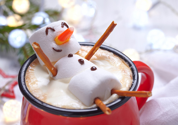 cup of hot cocoa