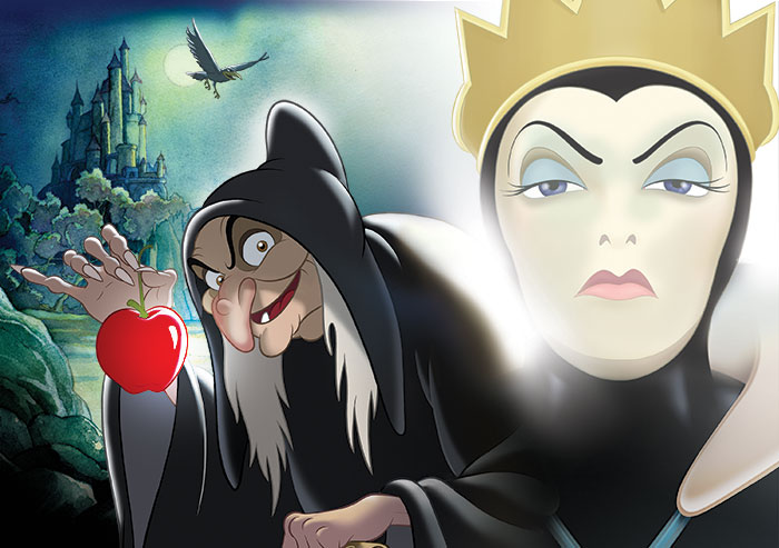 Disney Villain the Evil Queen from Snow White and the Seven Dwarfs