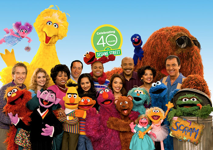 Celebrating 40 years at Sesame Street