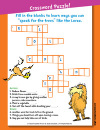 Lorax Activity Page 1