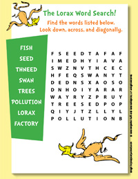 Lorax Activity Page 4