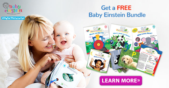 Get a Baby Einstein Book Bundle, Free!
