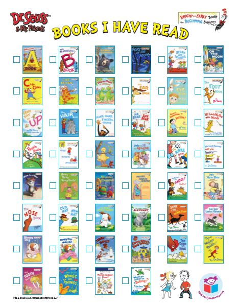 image regarding Printable Dr Seuss Books named All the guides! Dr. Seuss and His Buddies Printable Booklists