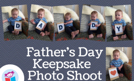 Father's Day Keepsake Photo Shoot