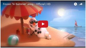 In Summer - Olaf's Song