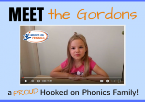 Meet the Gordons, a Hooked on Phonics Family