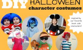 DIY Halloween Character Costumes