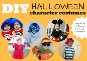 DIY Halloween Character Costumes